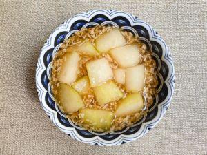 《月曜断食レシピ》冬瓜とえのきのとろみ煮
